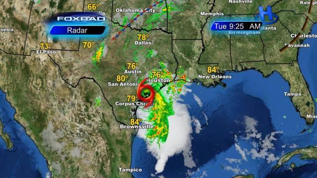 a tropical storm Bill