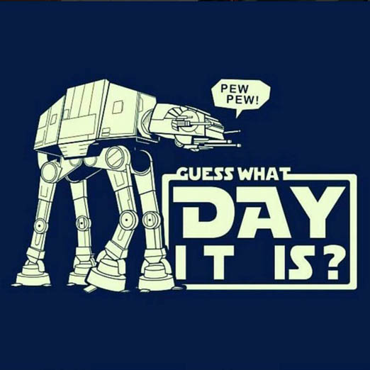 May The 4th Be With You Funny Meme: Wednesday Story Day – AKA – Hump Day