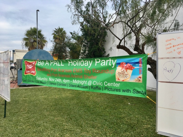 Be a pall holiday party