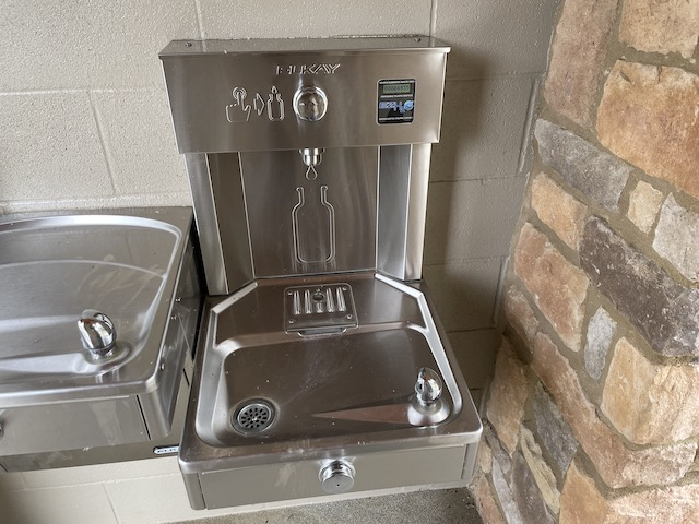 Picture of a water fountain